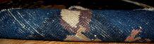 Carpettes ancien paire Chinois Peking fait main, 1B327