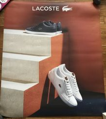 Grande affiche pub LACOSTE 2018