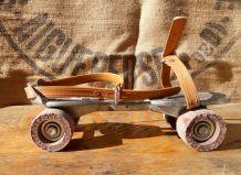Patins à roulettes en métal de notre enfance (Speedy junior)