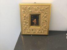Cadre doré ´ Le Joueur de Sérénadé'´