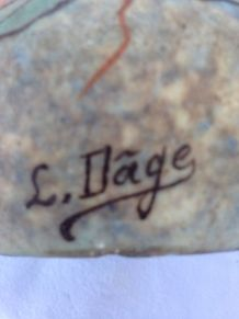 2 pôts signés Louis Dâge