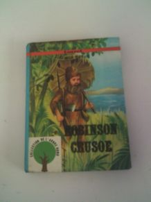 Livre Robinson Crusoé