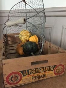 Ancien cageot - La Perpignanaise