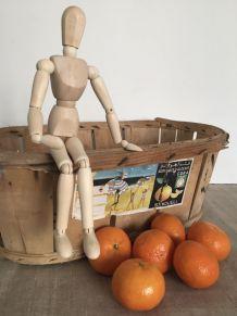 Ancien cageot, caisse à oranges