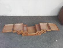 Boite a ouvrage en bois