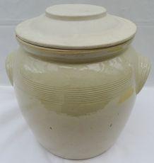 Pot à confit beige sable n°10