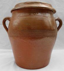 Pot à confit marron 20 L