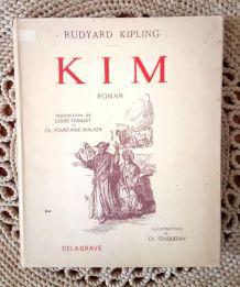 Rudyard Kipling - Kim - Librairie Delagrave 1949