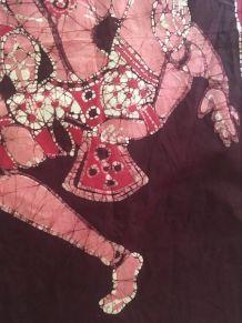 Batik mural indien.
