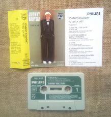Cassette audio - Johnny Halliday - C'est la vie