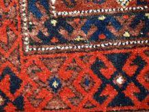 Tapis ancien Afghan Baluch fait main, 1C375