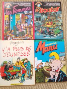 Lot de 4 bd Franck Margerin