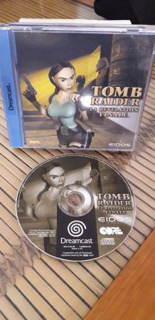 Dreamcast Tomb raider