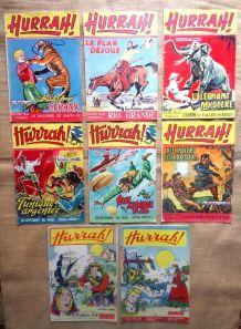 """8 numéros """"Hurrah"""" de 1954 et 1956"""