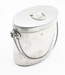 Ancienne gamelle militaire en aluminium