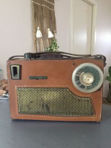 Radio Vintage portable Miami Pizons Bros 1956