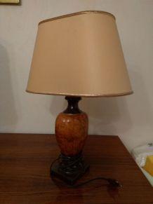Lampe avec pied en marbre