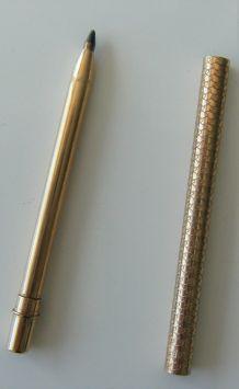 """Stylo miniature doré métal vintage """"305"""""""