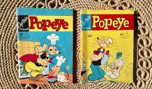 Cap'tain présente Popeye n° 85 et 88 - 1970