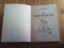 Livre Les Aristochats Nouvelle Bibliothèque Rose