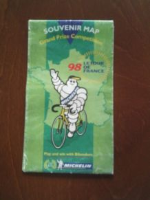 Carte Le Tour de France 1998 Michelin