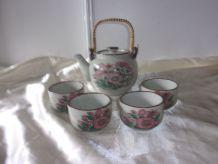 Service à thé en grès