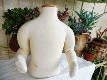 Mannequin buste enfant articulé bois/coton