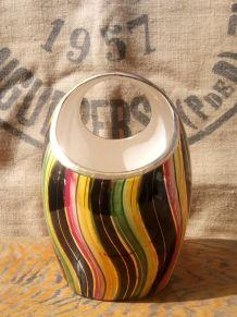 Vase en céramique  Hubert Bequet quaregnon 525
