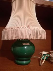 Lampe de chevet céramique d'art