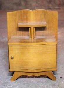 Table de chevet ancienne art déco