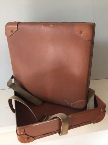 Ancienne boîte de bobines de film, accessoire de bureau