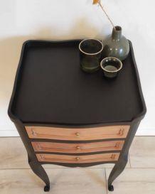 Table chevet bois