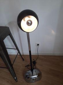 lampe vintage pied ancienne cireuse