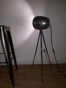 lampe vintage réglable en hauteur création unique