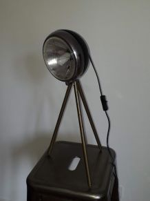 lampe vintage création unique phare de voiture ancienne