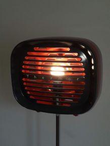 lampe vintage création unique ancien chauffage