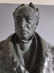 buste en plâtre de Charles Frédéric Kuhlmann