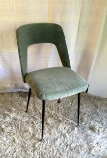 Chaise design style tonneau - années 50