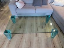 Table basse en verre Rochebobois
