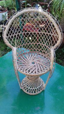 Mini fauteuil Emmanuelle vintage 80's