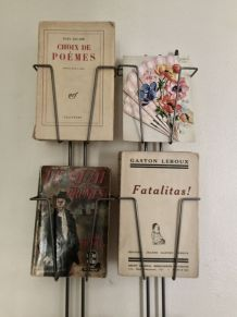 Présentoir double de cartes postales, décoration