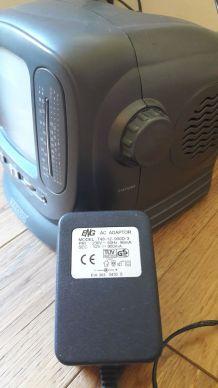 Mini Télé/Radio N&B vintage 90'sqz