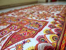 Tapis vintage Indien Tenture fait main, 1C428