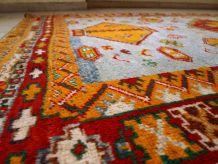 Tapis ancien Marocain Berber fait main, 1C438