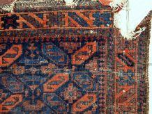 Tapis ancien Afghan Balucch fait main, 1C446