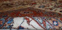 Tapis vintage Persian Mashad fait main, 1C487