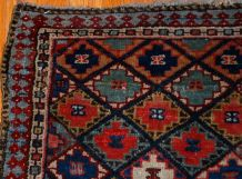 Tapis ancien Persian Jaf Kurdish fait main, 1B565