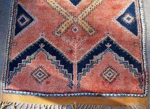 Tapis ancien Marocain Berber fait main, 1B589