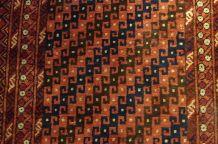 Tapis ancien Afghan Baluch fait main, 1B590