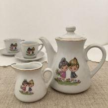 Dinette porcelaine, vintage : jouet ancien